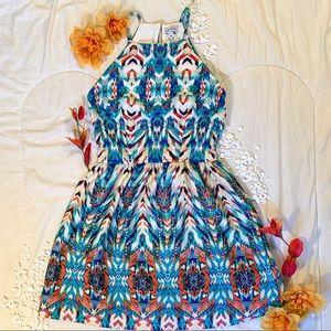 Speechless Patterned Mini Dress
